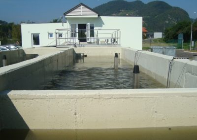 Wastewater treatment plant Radece