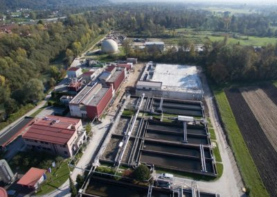 Wastewater treatment plant Domzale-Kamnik