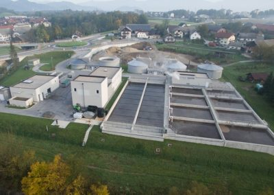 Wastewater treatment plant Skofja Loka
