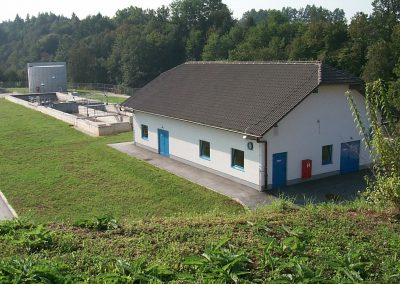 Wastewater treatment plant Črnomelj